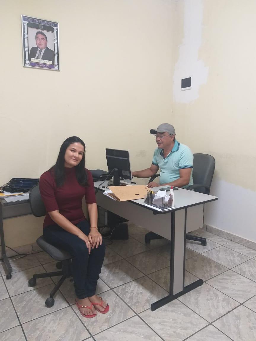ALUNO DO CURSO DE GESTÃO EM ESTÁGIO DA CÂMARA